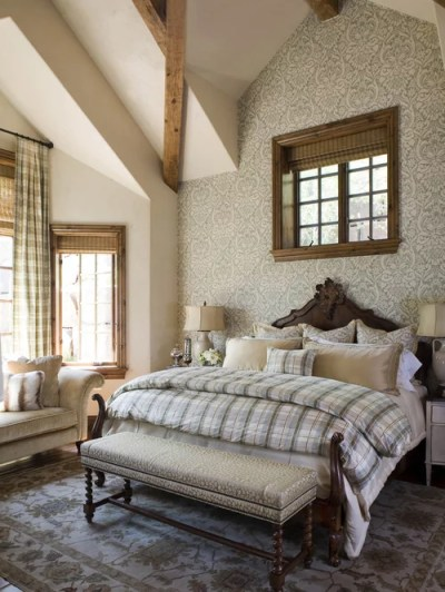 Wallpaper Accent Wall Home Design Ideas, Pictures, Remodel and Decor