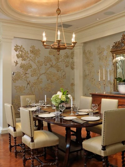 Dining Room Wallpaper | Houzz