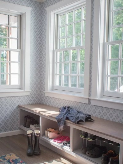 Serena Lily Wallpaper Design Ideas & Remodel Pictures | Houzz