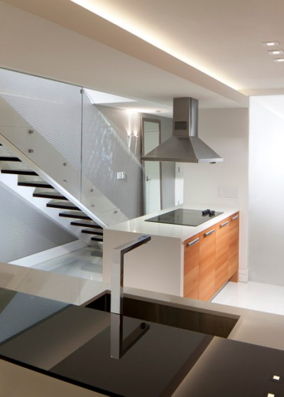 Stairs + Kitchen Island - Modern - Staircase - Miami - by RS3 DESIGNS