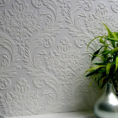 Anaglypta High Trad Paintable Textured Vinyl Wallpaper - Victorian - Wallpaper - by Brewster ...