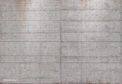 Concrete Blocks Wall Mural - Industrial - Wallpaper - by Brewster Home Fashions