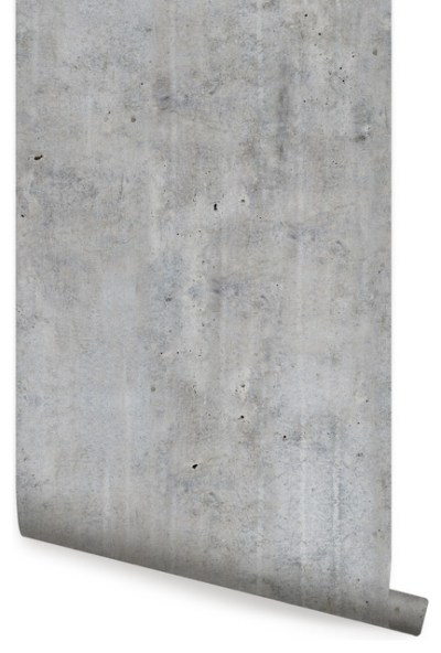 Cement Concrete Wallpaper, Peel and Stick - Contemporary - Wallpaper - by Simple Shapes