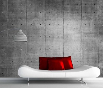 concrete wall mural