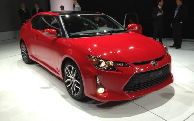 2014 Scion tC Molded in Image of FR-S - 2013 New York