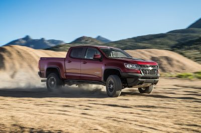 2018 Chevrolet Colorado ZR2 Gas and Diesel First Test Review - Motor Trend