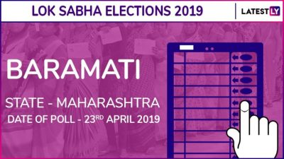 Baramati Lok Sabha Constituency in Maharashtra: Candidates, Current MP, Polling Date And ...