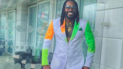 Chris Gayle is Ready For India vs Pakistan Match in ICC CWC 2019, Dons Special Attire Ahead of ...