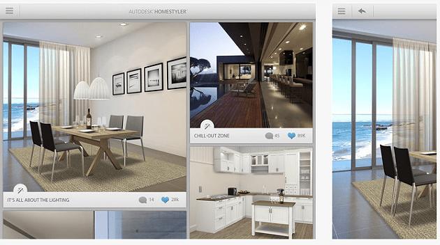 Autodesk homestyler, una app gratuita per progettare la ...