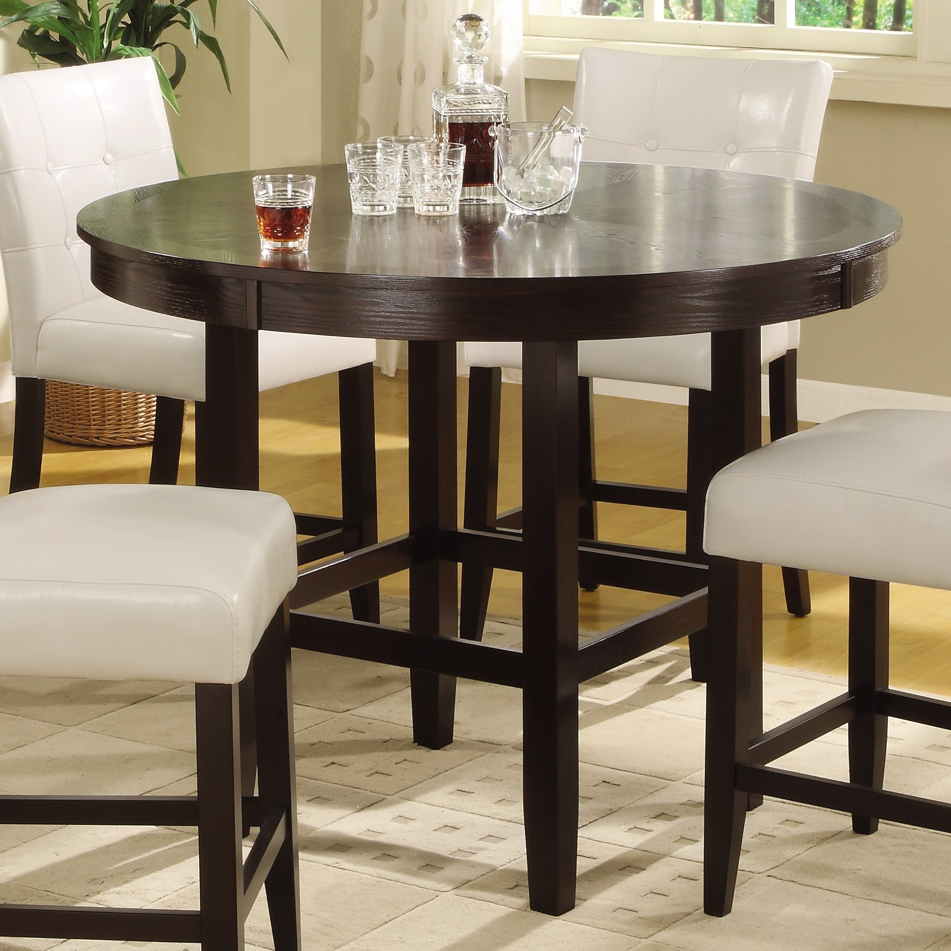 kitchen tables more high kitchen tables round glass dining room table more views