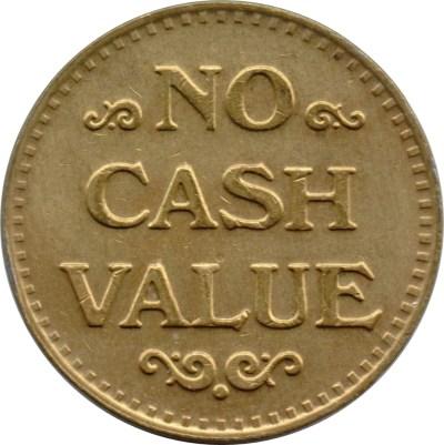 No Cash Value Token (with Clown) - * Tokens * – Numista