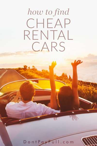 How to Find Cheap Rental Cars