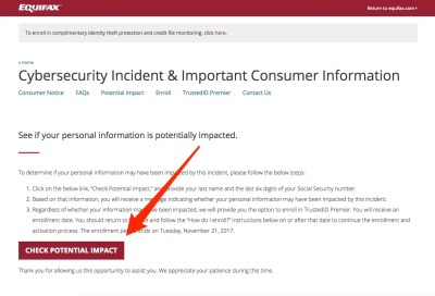 143 million Americans may have had their personal information exposed in the Equifax hack ...