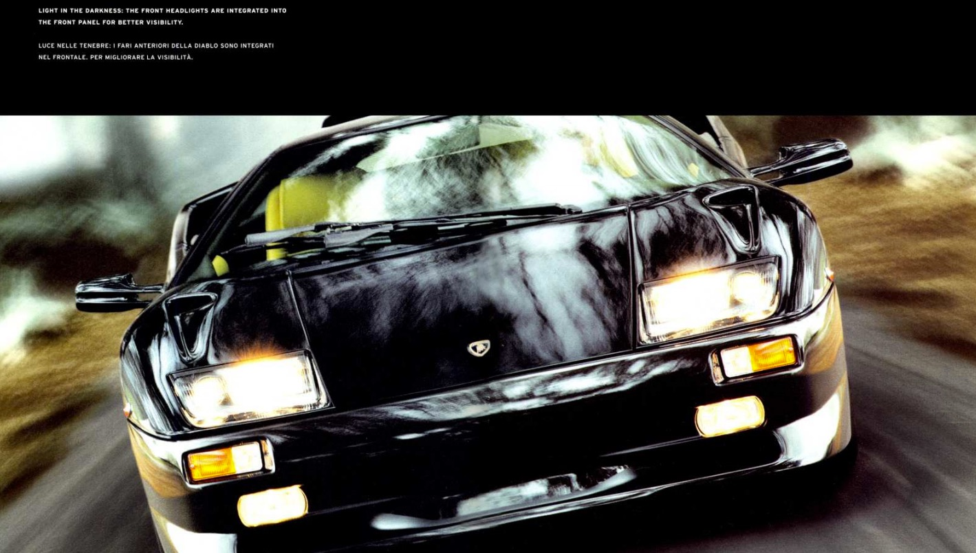 21 Retro Car Sales Brochures That You Need To See 17  Lamborghini Diablo  21 Retro Car Sales Brochures
