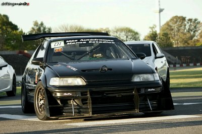 CRX Track Car