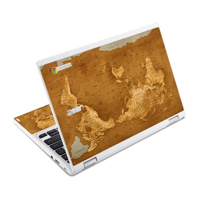 Acer Chromebook R11 Skin - Upside Down Map by Vlad Studio | DecalGirl
