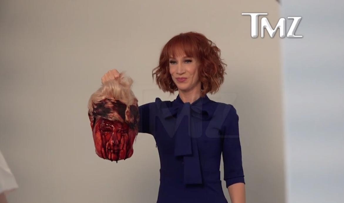 Kathy Griffin Holds Emotional Press Conference In Response To Drama     Kathy Griffin Holds Emotional Press Conference In Response To Drama  Following Graphic Trump Photos