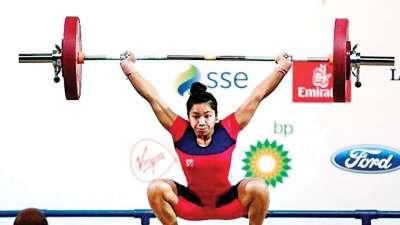 Golden girl Mirabai Chanu lifts 22-year-old 'burden'