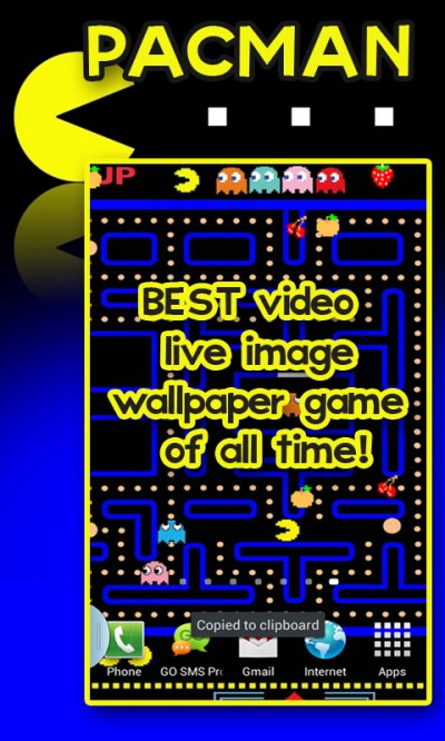Free PACMAN Live Image Wallpaper free APK Download For Android   GetJar