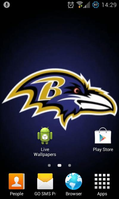 Free Baltimore Ravens NFL Live Wallpaper APK Download For Android | GetJar