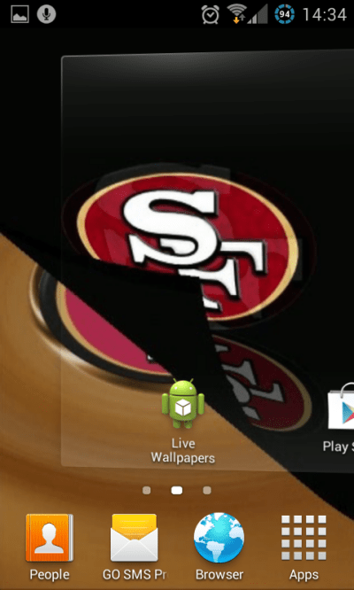 Free San Francisco 49ers NFL Live Wallpaper APK Download For Android | GetJar
