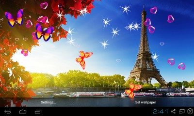 Free 3D Eiffel Tower Live Wallpaper APK Download For Android | GetJar