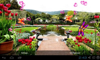 Free 3D Garden Live Wallpaper APK Download For Android | GetJar