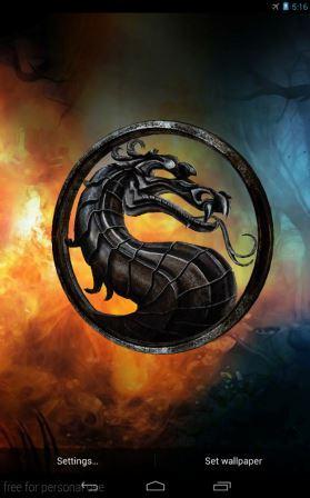 Free Mortal Kombat 3D Live Wallpaper APK Download For ...