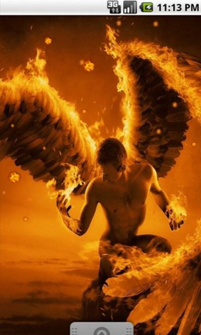 Free Flame Angel Cool Live Wallpaper APK Download For Android | GetJar