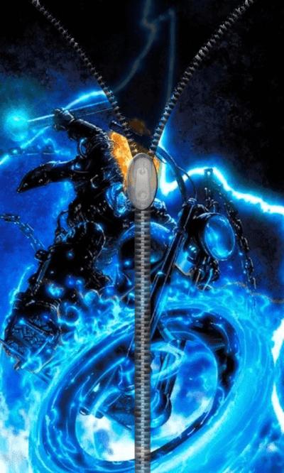 Free Lightning Ghost Rider Live Wallpaper Theme App APK Download For Android   GetJar