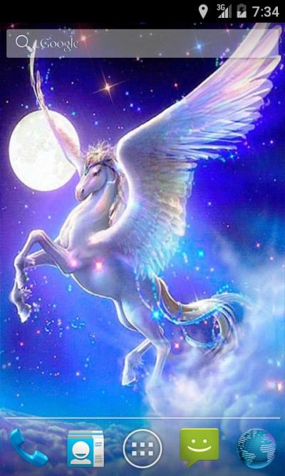 Free Pegasus Fantasy Live Wallpaper APK Download For Android | GetJar