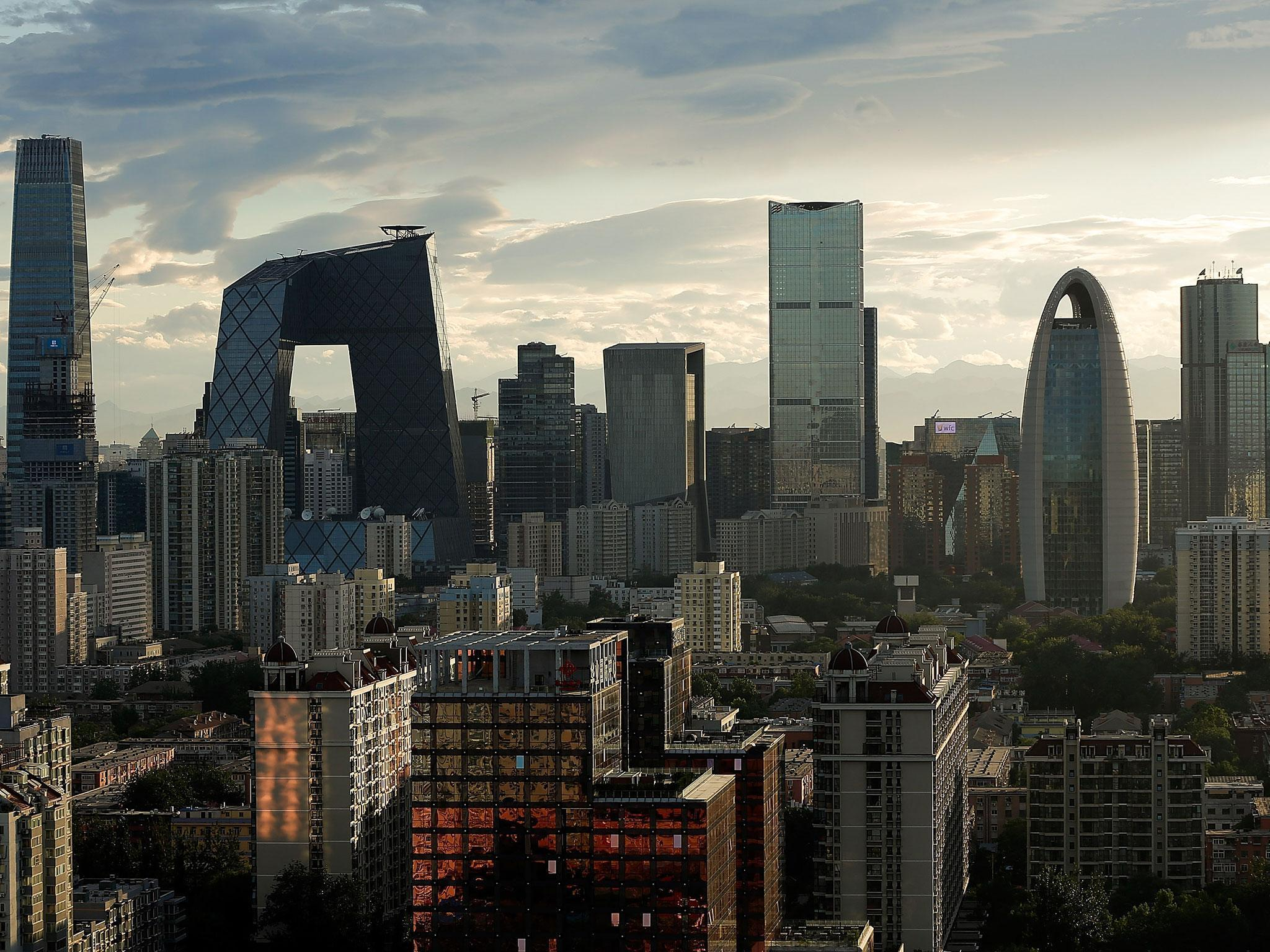 Beijing is sinking into the ground  says report   The Independent