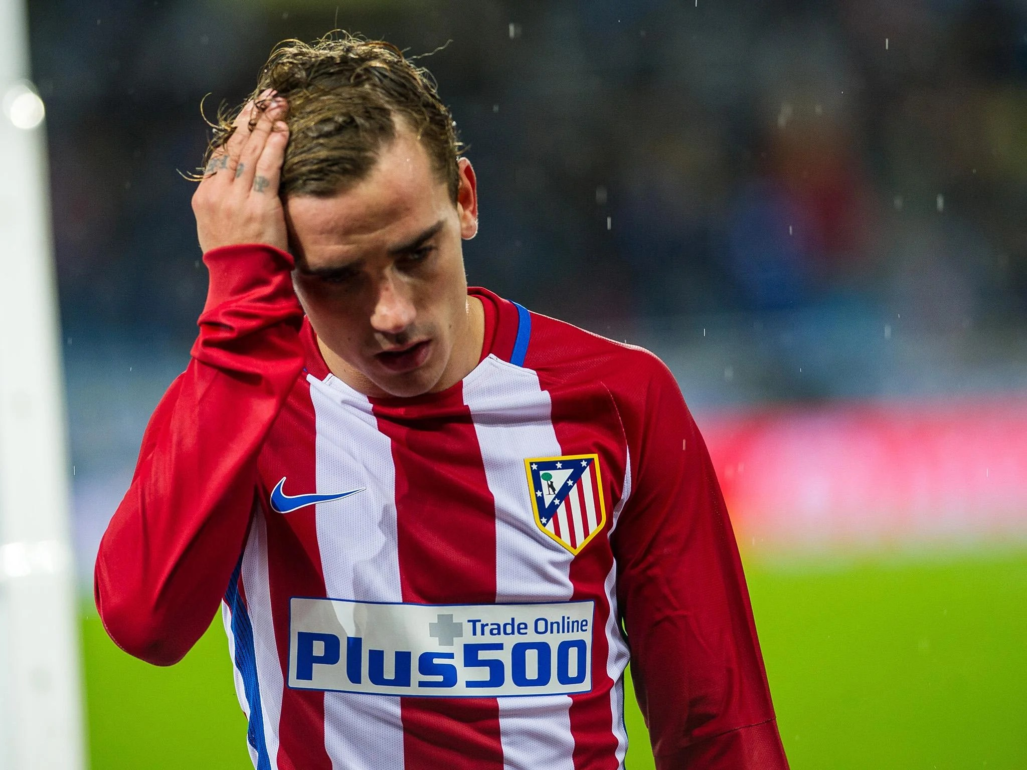Manchester United target Antoine Griezmann  happy at Atletico Madrid     Manchester United target Antoine Griezmann  happy at Atletico Madrid    insists club president   The Independent