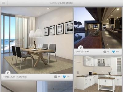 La nuova app gratuita Autodesk Homestyler permette di progettare la casa dei tuoi sogni su iPad ...