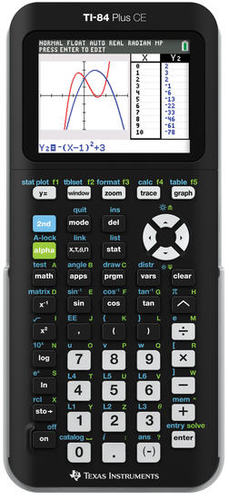 Texas Instruments TI-84 Plus CE Graphing Calculator (Black) for $143.95 at Academic Superstore