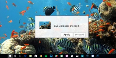 How to Set Live Wallpapers & Animated Desktop Backgrounds in Windows 10