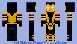 Scorpion (Mortal Kombat) Minecraft Skin