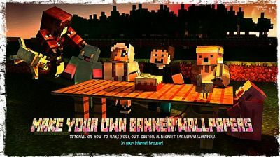 Make custom Minecraft Banners/Wallpapers in your internet browser! Minecraft Blog