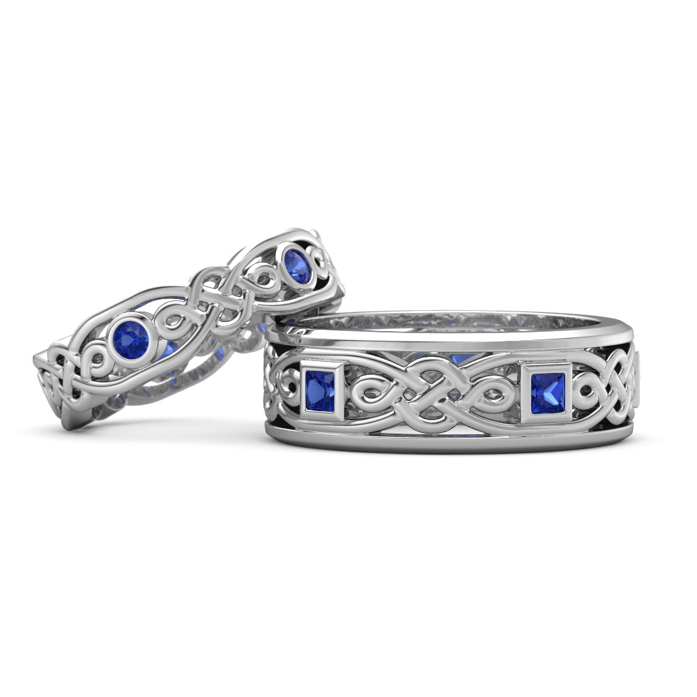 matching wedding bands matching wedding bands Celtic Inspired