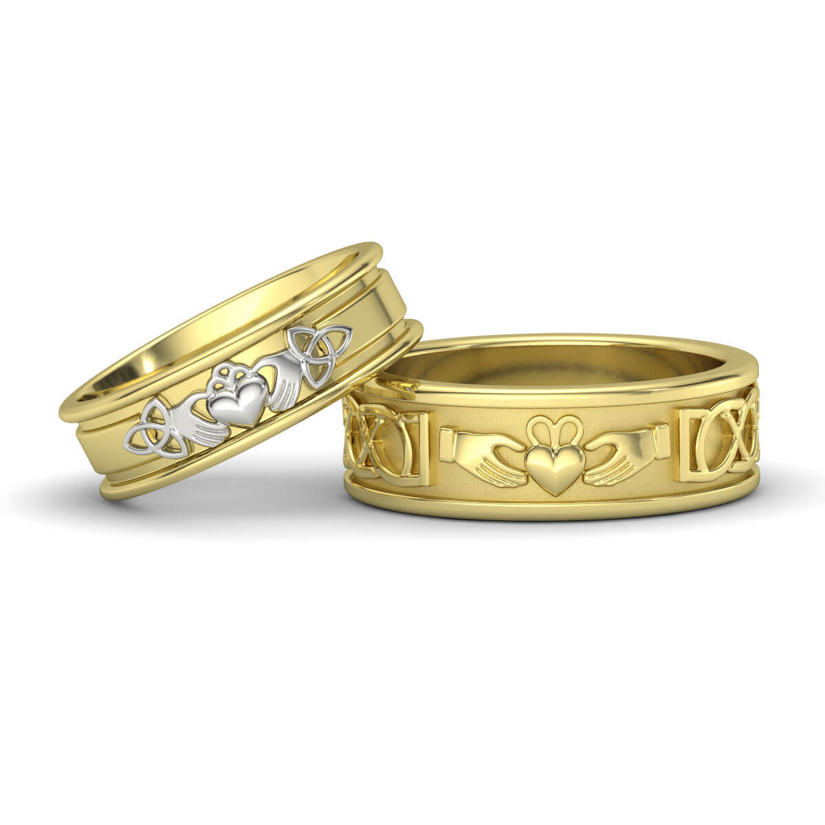 matching wedding bands infinity wedding band CROWN JEWELS