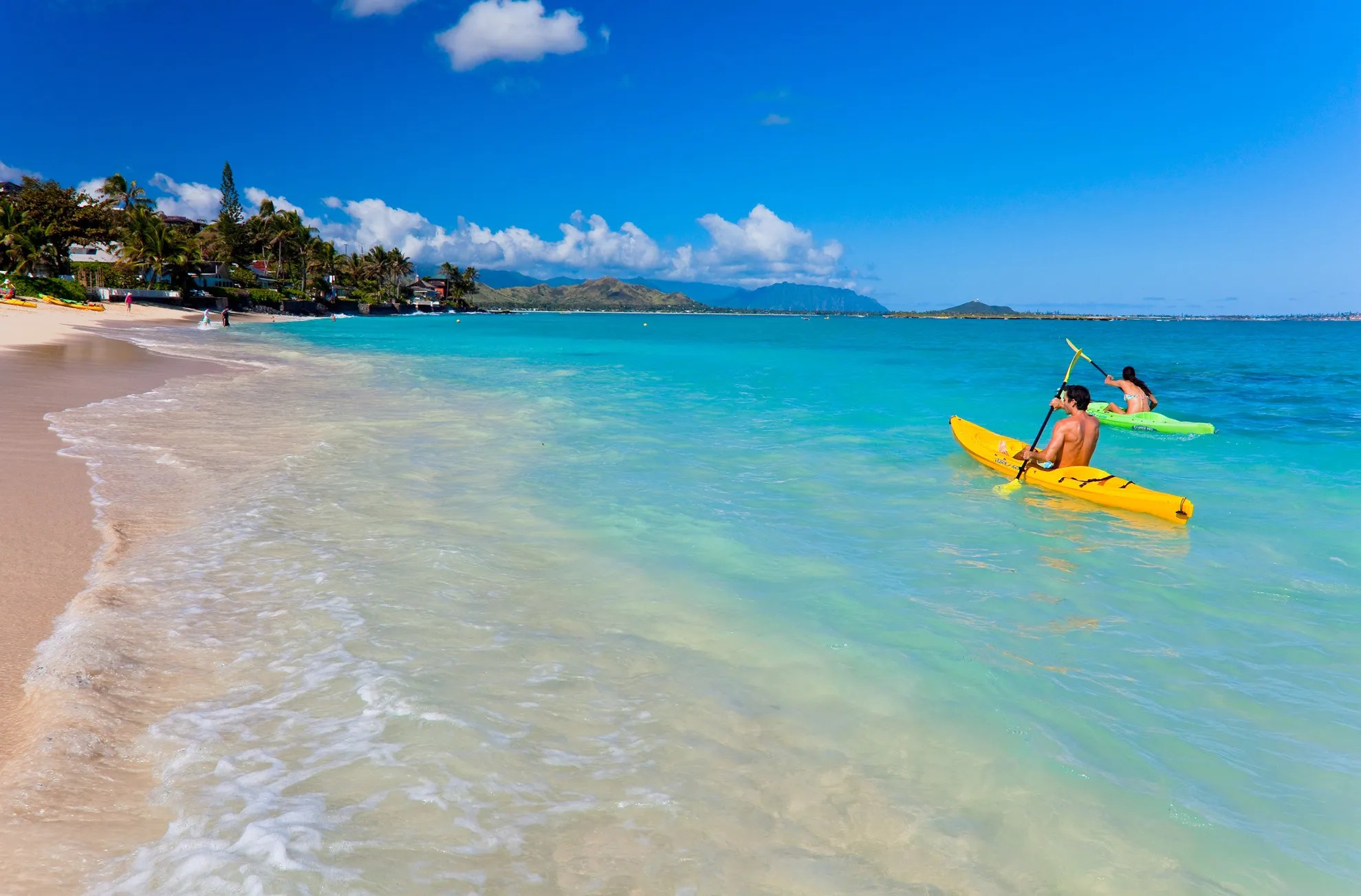 Hidden gems  on Hawaii s island of Oahu   The Seattle Times Away from Waikiki crowds  try kayaking at Kailua  on the eastern  windward  coast