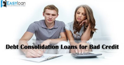 How Debt Consolidation Loans Steady Finances of Bad Credit People