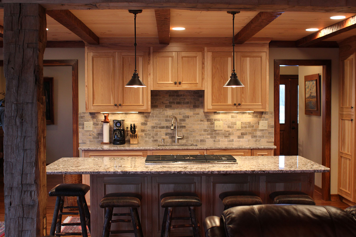 custom cabinetry amish kitchen cabinets Kitchen Remodel