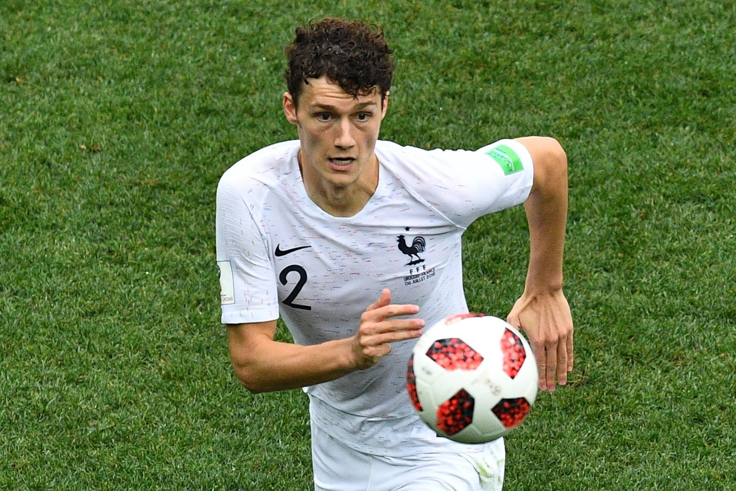France fans were suspicious of Benjamin Pavard but now he is key to     Hot property  Benjamin Pavard has been outstanding for France  scoring one  of the goals