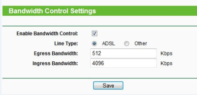 How to use bandwidth control on TP-Link wireless router?   TP-Link United Kingdom