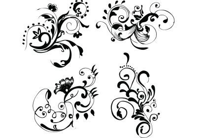 Hand Drawn Floral Free Vector Images - Download Free ...