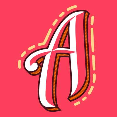 Letter A Typography Background - Download Free Vector Art, Stock Graphics & Images