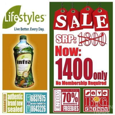 Lifestyle Intra 23 Herbal Juice - Vigattin Trade