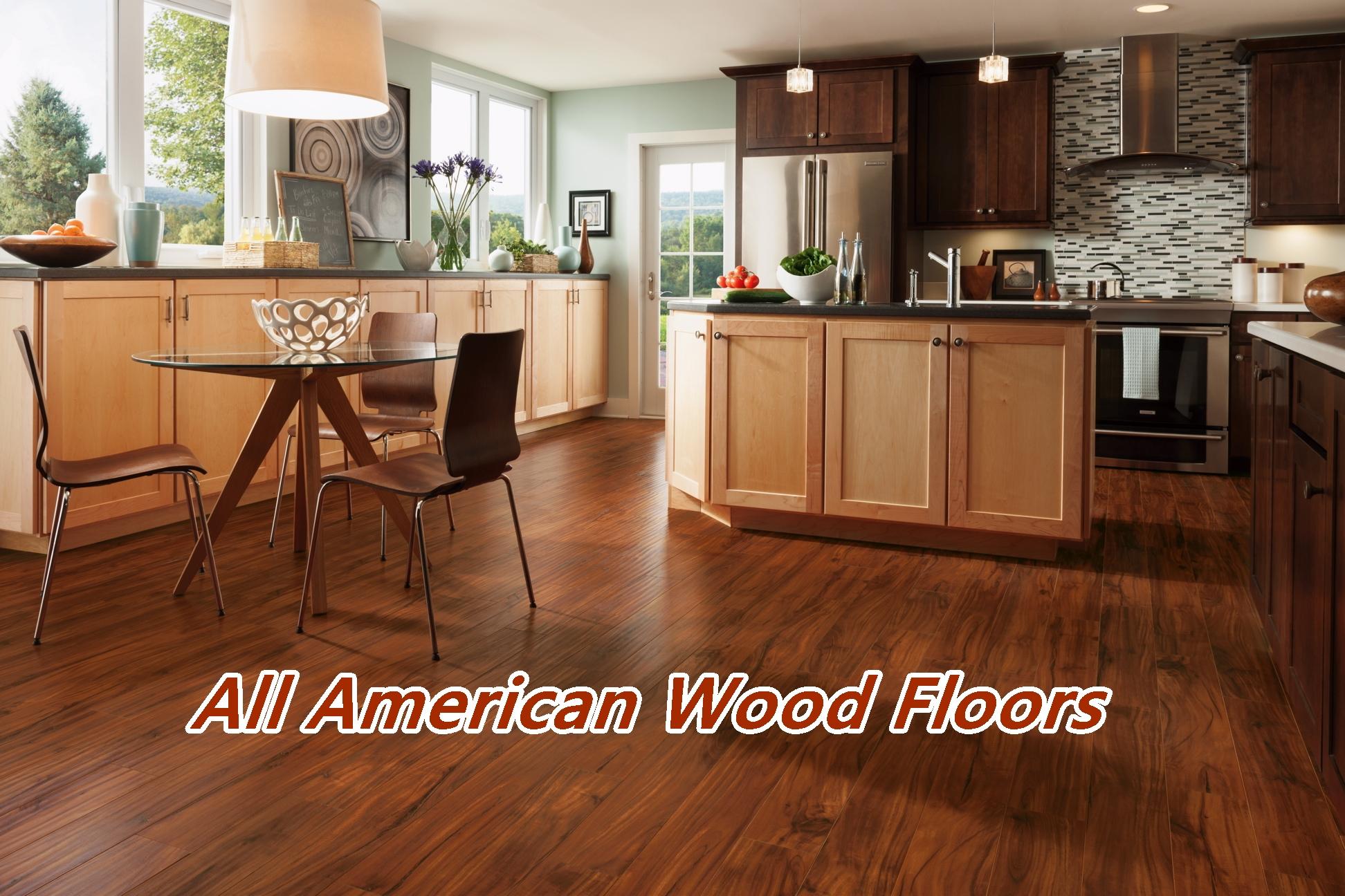 allamerican woodfloors wood floor in kitchen