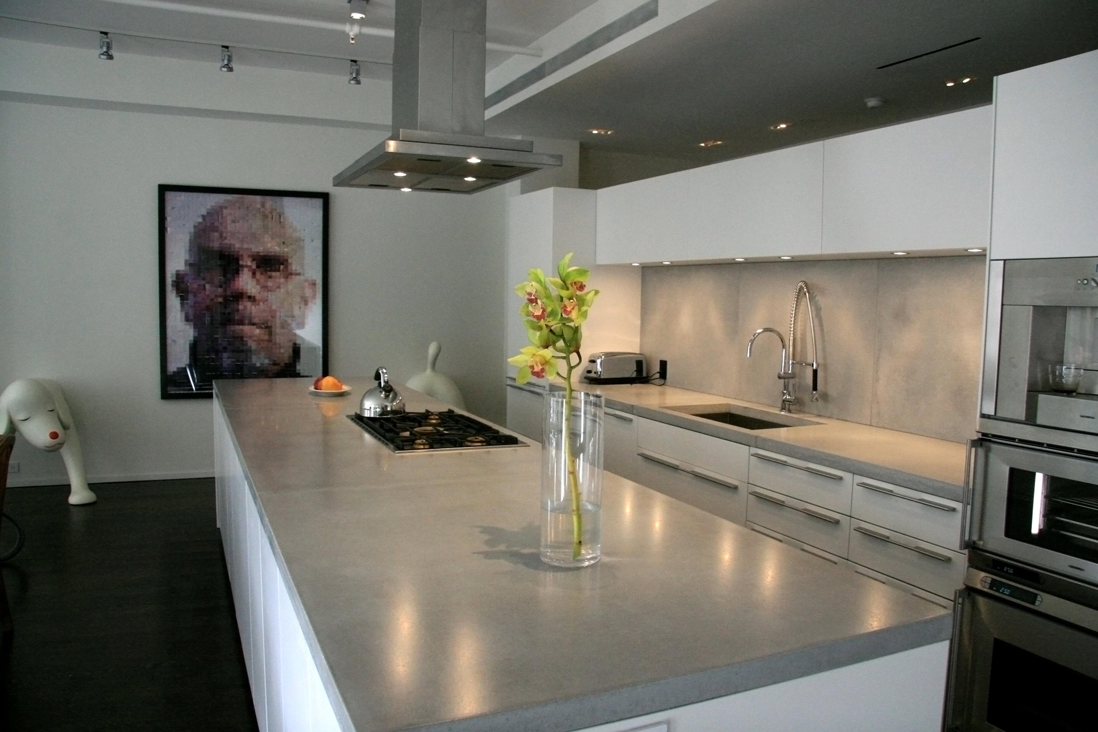 concreteshopstore concrete kitchen countertops Polished concrete countertops
